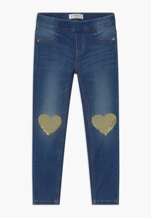 MINI TINA - Slim fit jeans - dark denim
