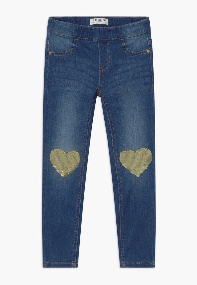 MINI TINA - Jeans slim fit - dark denim