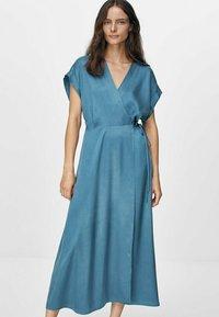 Massimo Dutti - Day dress - blue - 0