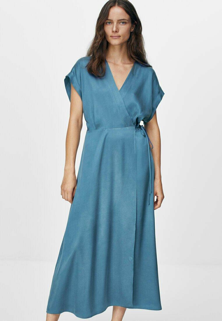 Massimo Dutti - Day dress - blue