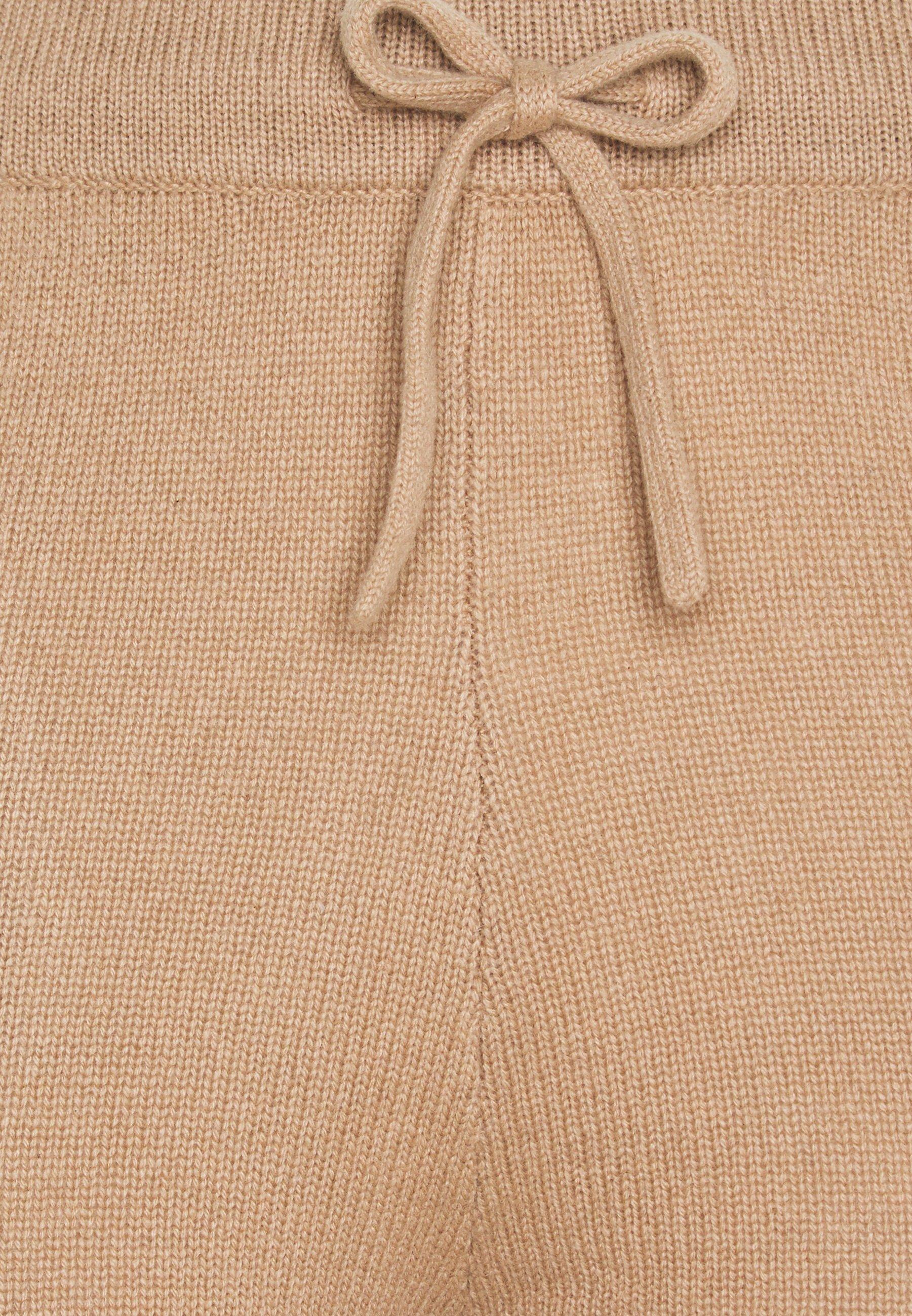 pure cashmere JOGGER PANTS - Pantalon de survêtement - camel - Pantalons & Leggings Femme kjonv
