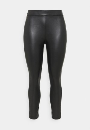 HIGH WAIST - Leggings - Trousers - black