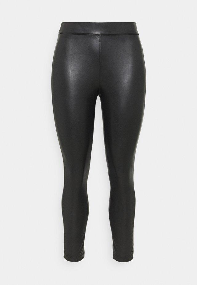 HIGH WAIST - Leggingsit - black
