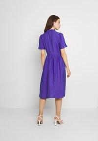 YAS - YASIRIS MIDI DRESS - Sukienka letnia - blue iris - 2