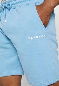 Mennace - BREEZE REGULAR UNISEX - Shortsit - blue - 4