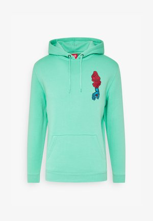 SCREAMING HAND HOOD UNISEX  - Hoodie - jade green