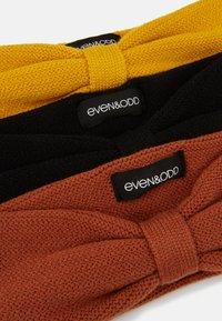 Even&Odd - 3 PACK - Beanie - mustard/blacK/orange - 2