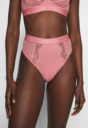 x NA-KD AMALIA - Thong - dusty rose