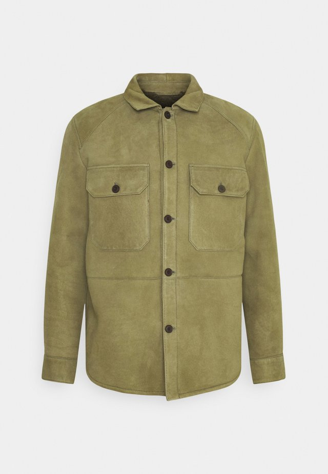 ARMY OVER SHIRT - Jas - laurel green