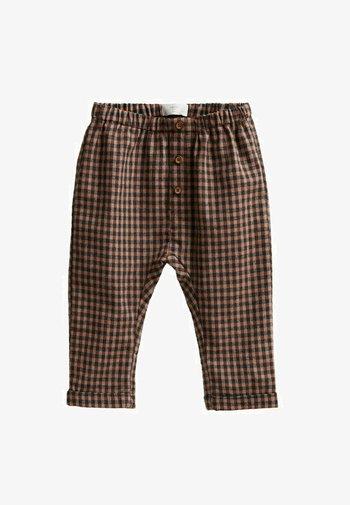 Trousers - oranjebruin