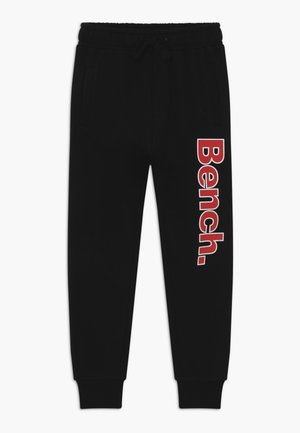 FEDERER - Tracksuit bottoms - black