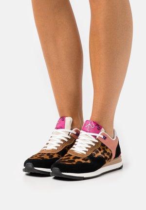 SHOE WARE LEOPARD - Sneakers laag - multi-coloured