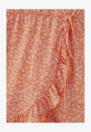 MIT PRINT - Robe d'été - orange