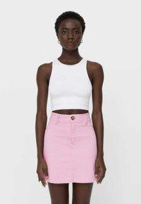 Stradivarius - Mini skirt - pink - 0
