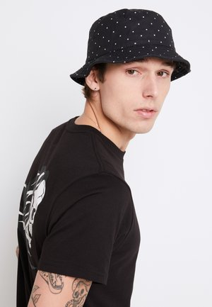 Hat - black-white