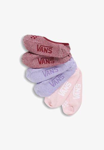 WM CLASSIC MARLED CANOODLES (1-6, 3PK) - Socks - chalk violet