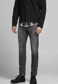 Jack & Jones - TIM  - Slim fit jeans - black denim - 0