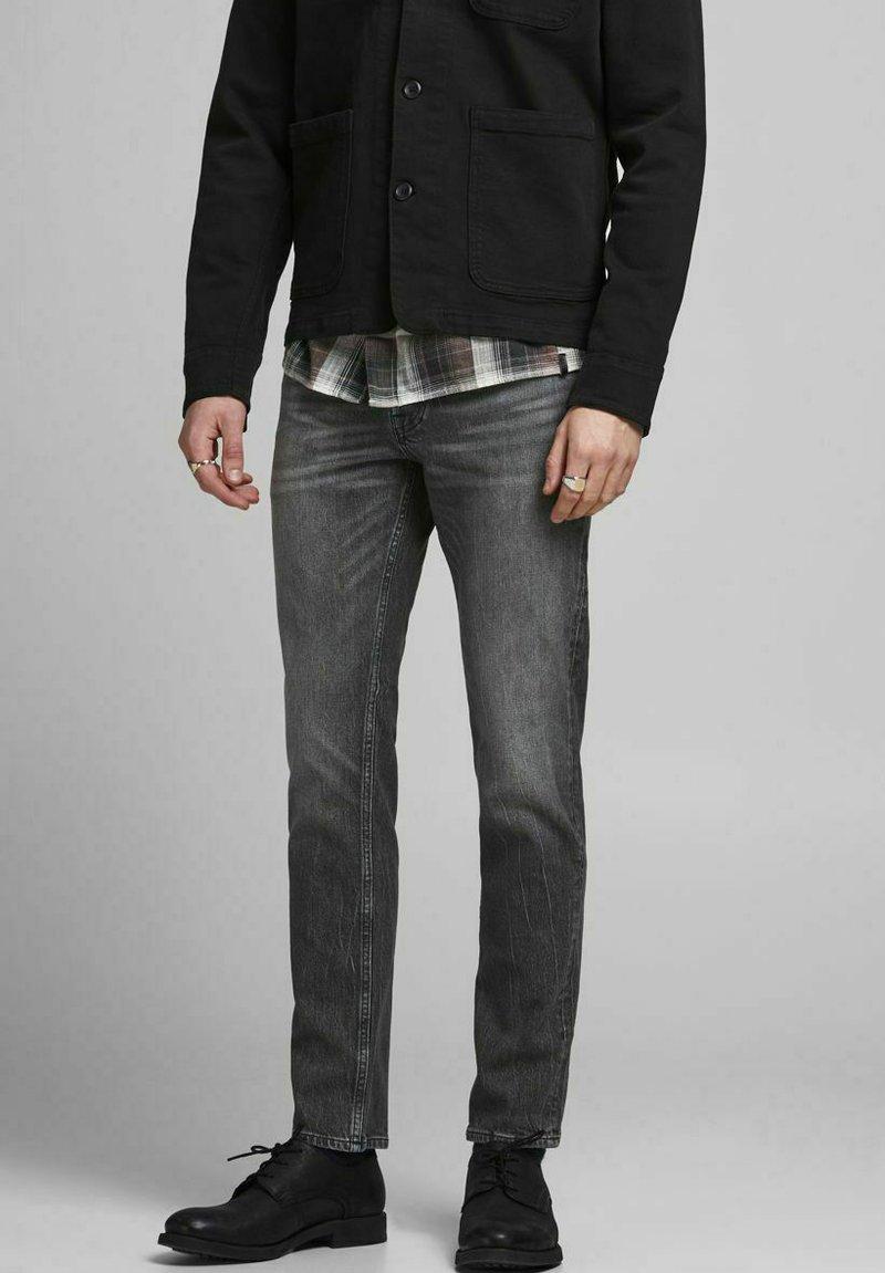 Jack & Jones - TIM  - Slim fit jeans - black denim