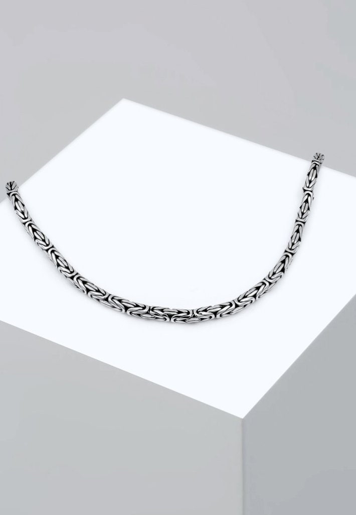Homme Collier - silver-coloured