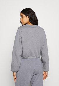 BDG Urban Outfitters - BUBBLE HEM - Sweatshirt - marlin blue - 2