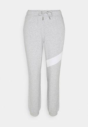 MEGHAN PANTS - Jogginghose - light grey melange