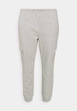 JOGGER - Tracksuit bottoms - grey marl