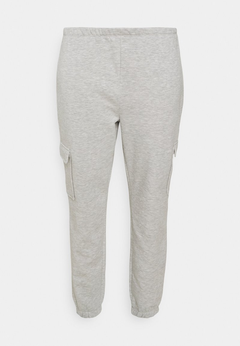 CAPSULE by Simply Be - JOGGER - Pantaloni sportivi - grey marl