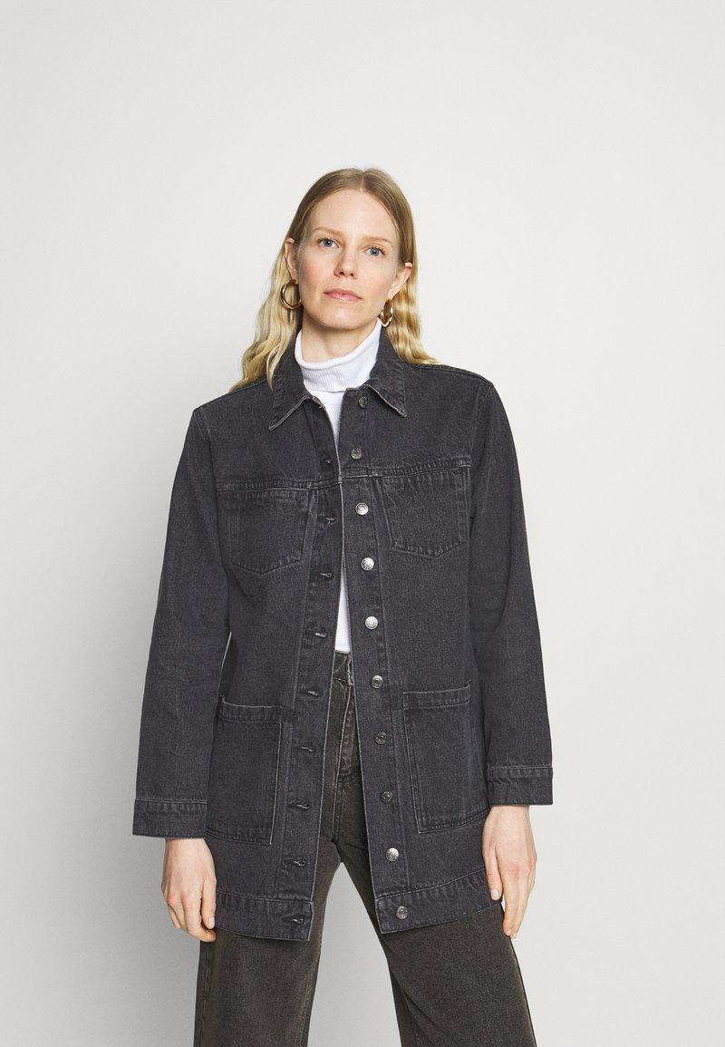 Carin Wester - JACKET TORI - Short coat - black