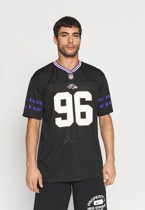 NFL BALTIMOR RAVENS - Club wear - black
