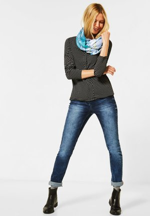 MIT DIGITAL-PRINT - Snood - blau
