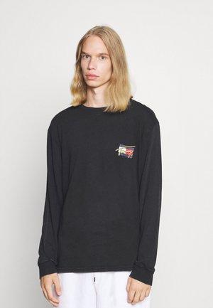 VINTAGE CIRCULAR TEE UNISEX - Maglietta a manica lunga - black
