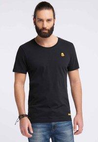 Schmuddelwedda - Print T-shirt - black - 0