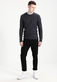 Superdry - SCARFELL CREW - Jumper - mottled anthracite - 1