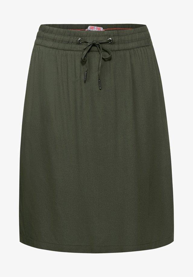 A-lijn rok - grün