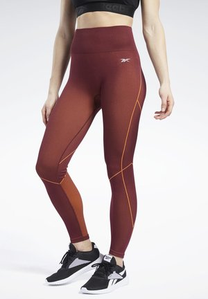 MEET YOU THERE 7/8 TIGHTS - Legging - burgundy