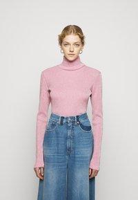 MM6 Maison Margiela - Long sleeved top - pink - 0
