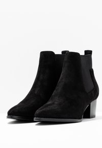 ONLY SHOES - TOBIO CHELSA - Boots à talons - black - 4