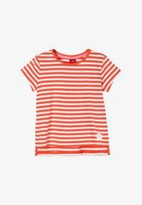 s.Oliver - Print T-shirt - orange stripes - 0