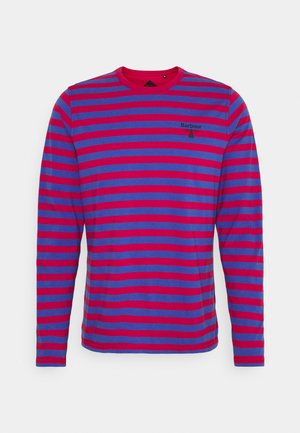 STRIPED TEE - Long sleeved top - cerise