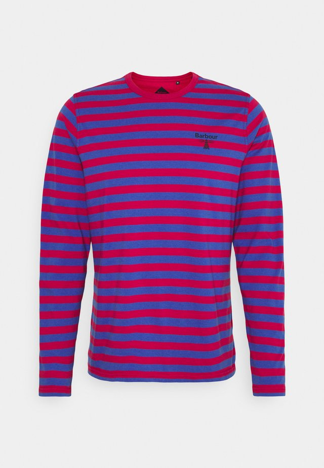 STRIPED TEE - Langærmede T-shirts - cerise