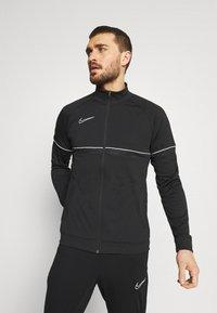 Nike Performance - ACADEMY SUIT - Survêtement - black/white - 0