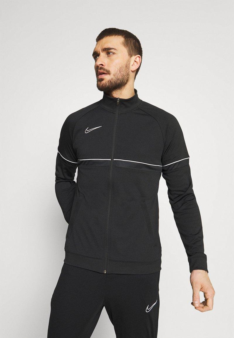 Nike Performance - ACADEMY SUIT - Survêtement - black/white