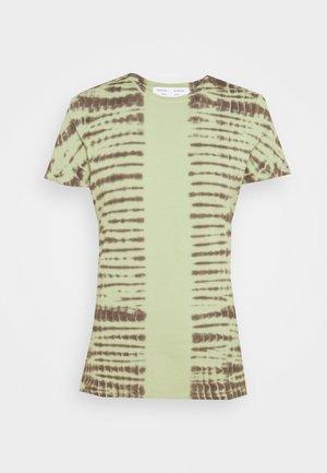 T-shirt print - spanish moss/grass