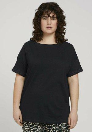 T-shirt basic - deep black