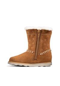 Clarks - Winter boots - hellbraunes veloursleder - 4