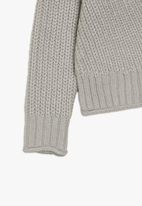 New Look 915 Generation - FRONT CROP JUMPER - Strikpullover /Striktrøjer - grey - 3