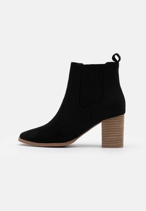 PETRA GUSSET - Ankelboots - black