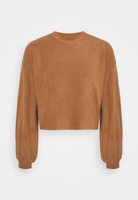 Vero Moda - VMWAFFLE  - Sweatshirt - tawny brown - 0