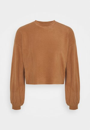 VMWAFFLE  - Sweatshirt - tawny brown
