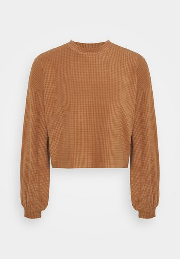 VMWAFFLE  - Sweatshirt - tawny brown